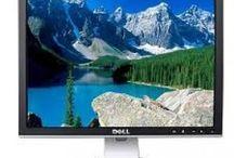 Monitores Dell / Pantallas de ordenador Dell de segunda mano con un año de garantía.