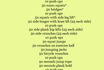 workouts / by Daralyn Hadden