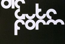 A: Armin Hofmann / swiss style, graphic design, typography