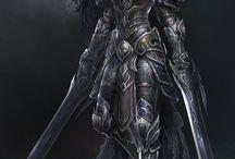 fem warrior