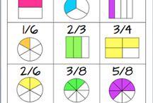 Teaching - Math - Fractions / by Matt Ray