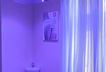 LUTRON light control / lighting control system in beauty salon
