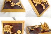 Carved wood / my work carved wood