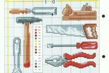 Haft krzyżykowy - Narzędzia / Cross stitch - Tools