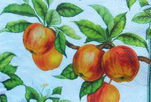 Jablcko dekupaz