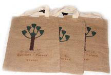 Sacolas Ecológicas / sacolas em juta www.gostodefazer.com