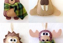 Felt & Paper Crafts... / by Donna Wolford