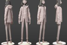 clothing sculptures