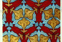 M.C Escher teselaciones