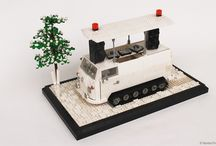VW T1 Snowcat Adventuremobile 100%LEGO / An Austrian engineer recently retrofitted a 1966 VW Bus Bulli T1 with late-'60s Bombardier caterpillar tracks and a DJ sound system capable of causing an avalanche… This is my LEGO version of the Adventuremobile.