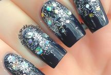 Glitters and new years