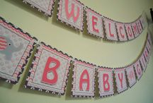 Pink and Gray Elephant Baby Shower / by Amanda Warner