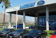 Raceway Ford / So Cal's premier Ford Dealer, proudly serving the Inland Empire area of Southern California :) / by So Cal Ford Dealers