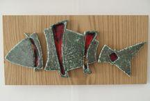Pesci in ceramica