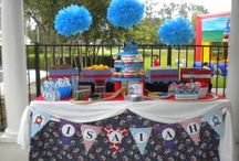 Elijahs third birthday party ideas