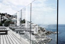 FenceGuides - Glass Fencing / Modern and beautiful at the same time. Perfect for that clean look.