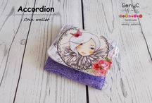 accordion coin wallet / Sewing Patterns