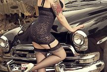 Hot Rod and Girl