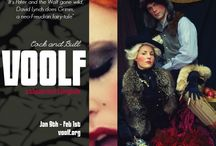 """VOOLF / Voolf """"Peter and the Wolf Gone Wild"""" Experimental Theatre production by Cock and Bull Theatre"""