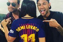 Neymar i Demi Lovato