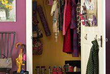 Hallway & closet