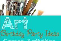 Art birthday / by Kimberly Rodriguez