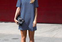 moda vestidos & tenis