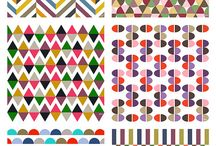 Color Designs & Patterns / Graphical or repeating colours. Good for beading, crochet, rugs, etc  / by Clearly Helena