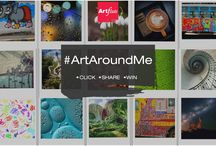 Contest Alert: Discover #ArtAroundMe this World Art Day! / Here's how it works: Step 1: Click anything that you find artistic and delightful to capture.  Step 2: Share it on our Facebook Page (https://www.facebook.com/artflute)  Step 3: Get your friends to 'Like' and 'Share' your entries. Each like and share will be counted as a vote and the one with most votes will win gorgeous art from Artflute! For more questions and tips - https://www.facebook.com/notes/artflute/contest-alert-discovering-artaroundme-this-world-art-day/817080238327964
