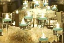 Barrister's Ball Center Pieces / by Francesca Howland