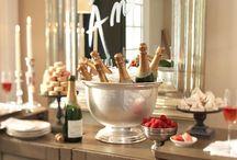 Champagne buffet