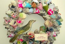Paper Wreaths & wreaths  / by Helen Stewart Perry