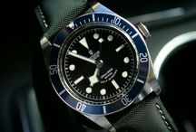 Watch Straps For Tudor / B & R Bands Awesome Strap Combo on the Tudor Black Bay!!!