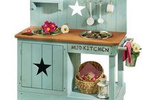 Matschküche für Kinder Outdoor Küche