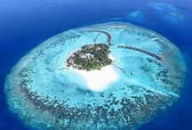 Maldives / For pure unadulterated laziness. A combination of Beauty and Tranquility.