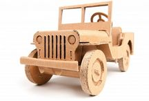 caminhões de madeira
