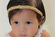 Braided Baby Headbands