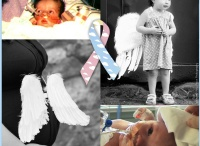 CDH Awareness / Congenital Diaphragmatic Hernia Awareness.  http://www.savethecherubs.org  CDH survivors and family members wearing wings to raise awareness of the birth defect, CDH, that strikes 1600 babies every year in the United States, taking the lives of 50% of them.  Cause unknown. / by Dawn Williamson - Congenital Diaphragmatic Hernia Awareness