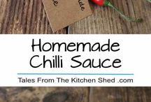 Home made Chilli Sauce