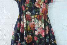 Floral print dresses