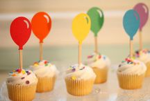 Cupcake Toppers. Boys. / Super sleek & sophisticated Cupcake Toppers for Boys Birthday Parties.