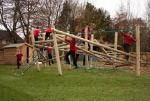 Pick Up Sticks / Our new Pick-Up-Sticks range has been designed to replicate natural play at its best. The irregular structures, utilising timber and rope have built-in opportunities to experience risk and challenge