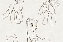 Now to draw pony