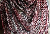crotchet shawls