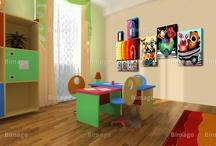 Made for kids - tableaux, papiers peints & stickers / Décoration de la chambre de votre enfant - tableaux, papiers peints et stickers muraux pour enfants