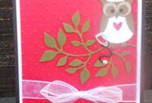 Stampin Up Owl Builder Punch / Check out my blog at: www.stampwithanna.blogspot.com Shop with me at: http://www.stampinup.net/esuite/home/annamasciovecchio/