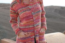 Knit & crochet coat & poncho