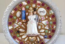 Mosaic Romantics / Mixed media mosaics