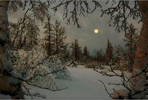 peisaje iarns