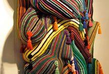 art: fibre / knit, crochet and fibre artworks